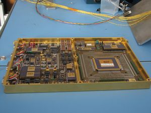 SAM GC electronic board